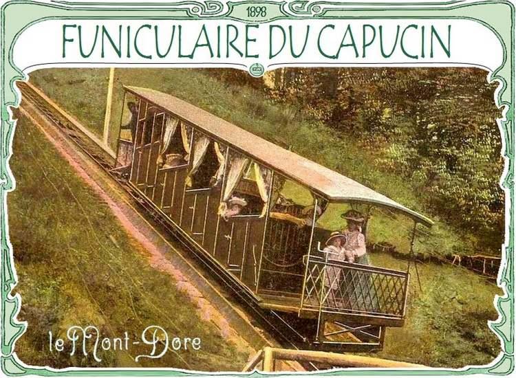 Le funiculaire du Capucin
