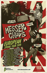 Messer Chups - European spring tour 2019