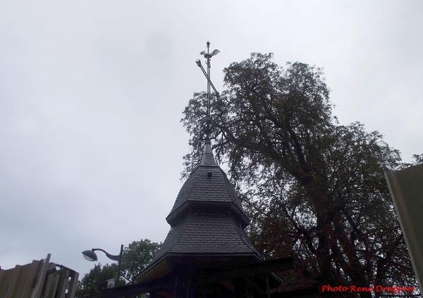 La rénovation du clocher de l'église Saint Pierre, autrefois église Notre Dame