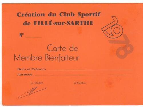 Création et débuts de Fillé-Sports 1978-1984.