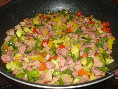 Crozets aux légumes 3