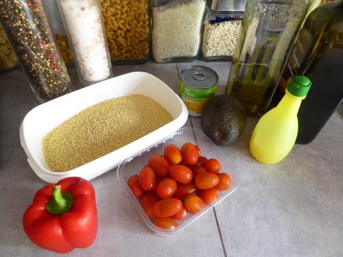 Une Salade de Perles aux Légumes