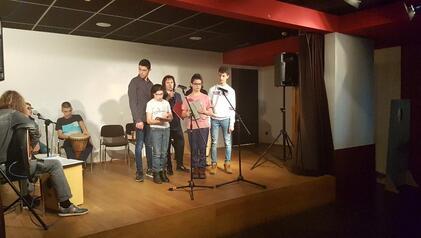 Concert de l'atelier «Expression musicale»