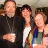 Avec Danièle et notre regretté Père Joseph de Lausanne