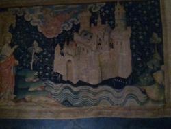 Visite du château d'Angers