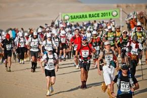 Ultrafond ou ultra-marathon (ultra-runner) Sahara 2011
