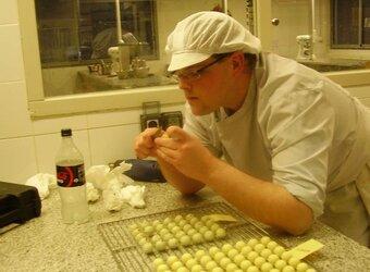 TP de pâtisserie des stagiaires CAP Greta