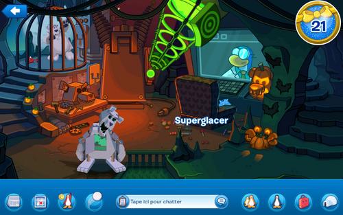 La fête d'halloween en avant-première sur l'application