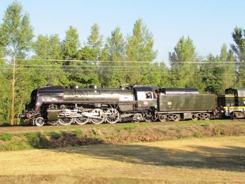 Train vapeur Fete des fleurs Luchon aout 2010