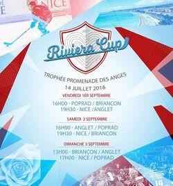 Calendrier Riveria Cup