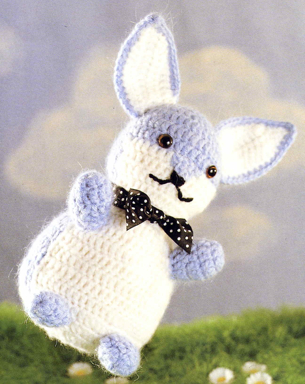 Amigurumi au crochet, petit lapin en coton, le cadeau idéal pour ... | 1633x1296