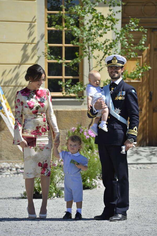 Baptême d'Adrienne de Suède - 1