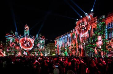 Les lumières à Lyon