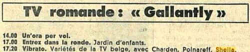 20 avril 1968 / VIBRATO (RTBF) - INTROUVABLE