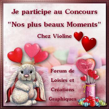 CONCOURS CHEZ VIOLINE