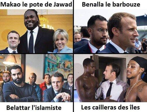 On ne vous dit pas tout sur les frasques de Macron bien sûr.