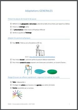 100 adaptations pédagogiques faciles à mettre en place