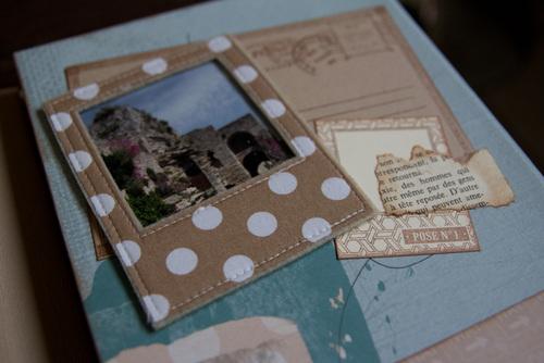 Mylène - En route pour l'aventure - Crop avec Cathyscrap85