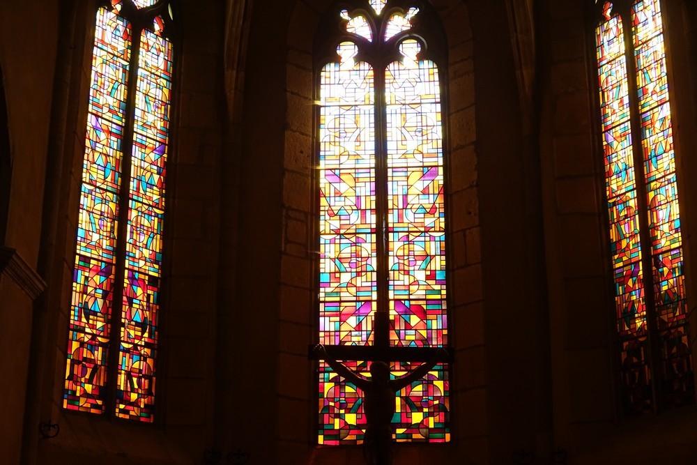 Saint-Côme-d'Olt : l'église Saint-Côme-et-Saint-Damien...
