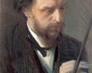 Portrait of the Artist G.G. Myasoedov  - Ivan Kramskoy