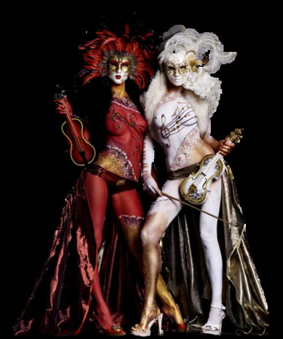 Personnages de Carnaval Série 9