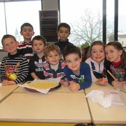 La galette à l'école