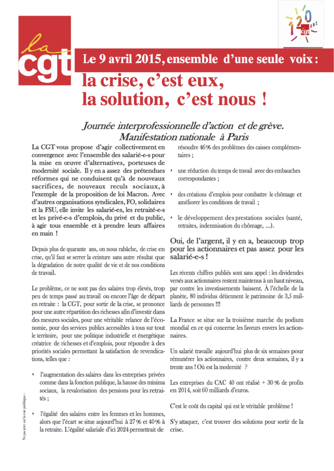 Tract 9 avril