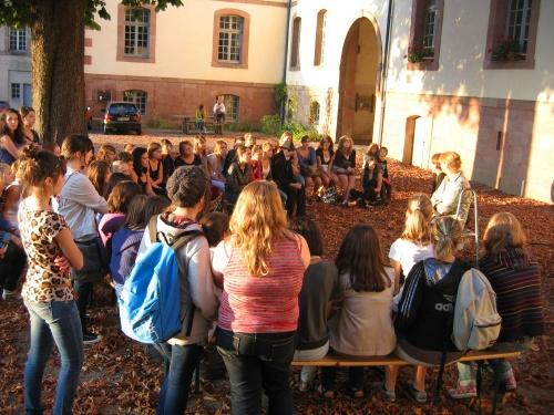 Journée de parrainage: octobre 2011