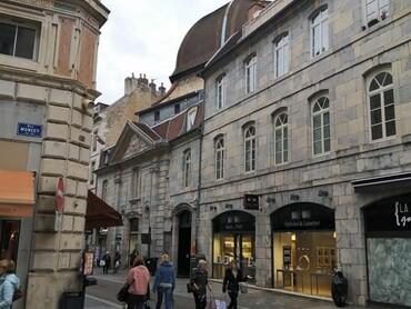 DRC - Besançon - Rue des Granges - Coupole d'une ancienne église (18°s;)