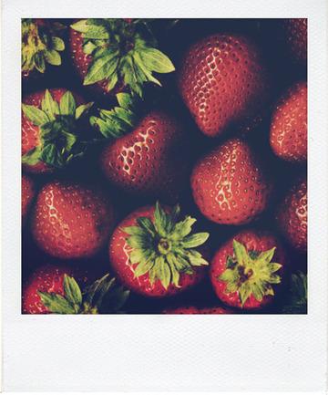 Angel cakes rhubarbe et fraise