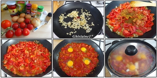 Chakchouka aux œufs