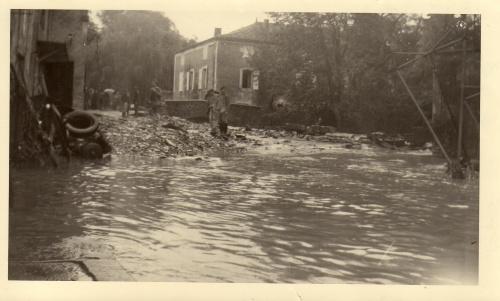 Inondations 3 octobre 1960