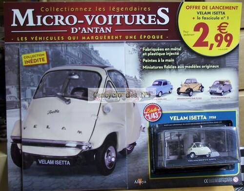 N° 1 Micro-voitures d'antan - Test
