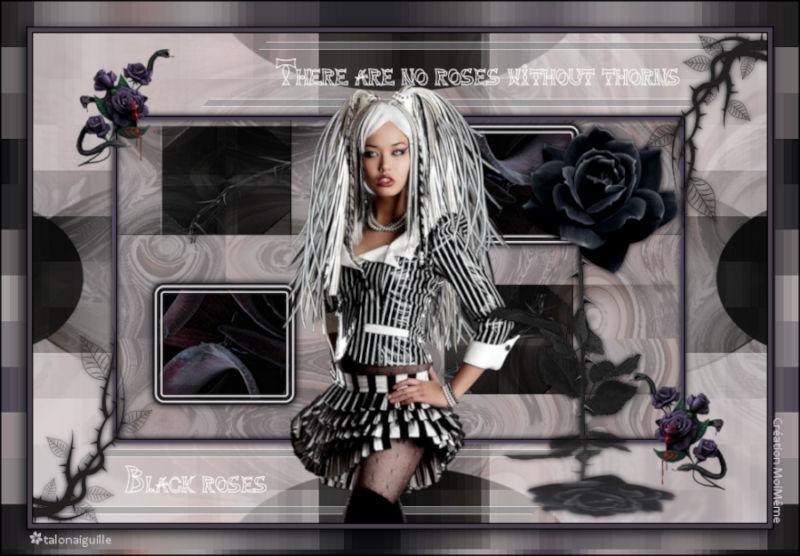 *** Black Roses***
