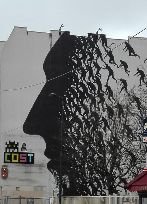Art urbain à Paris 13 ème