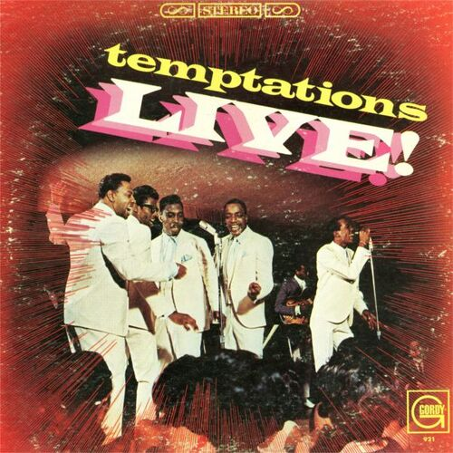 "The Temptations : Album "" Live ! "" Gordy Records GLPS 921 [ US ]"