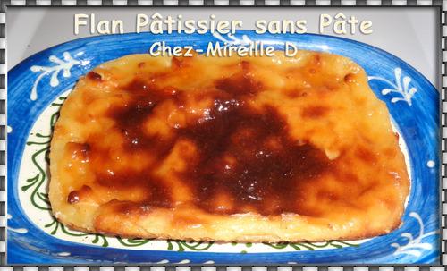 Petit Flan Pâtissier sans Pâte
