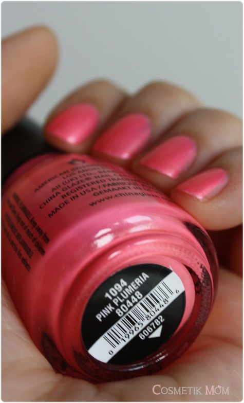 Pink Plumeria de China Glaze …Neon Crush