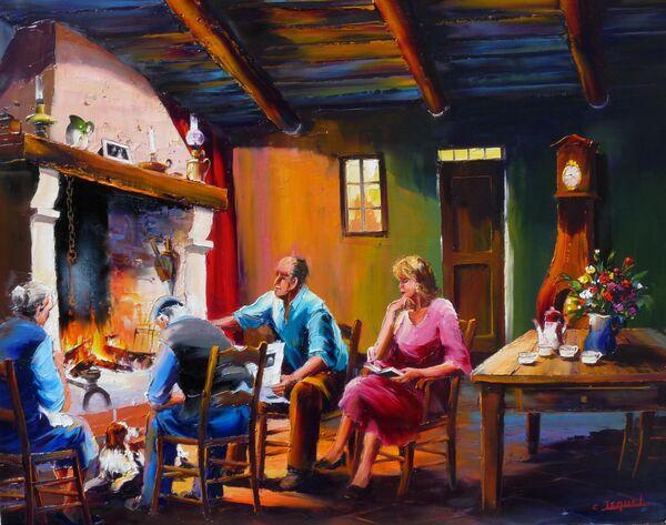 Peinture de : Christian Jequel