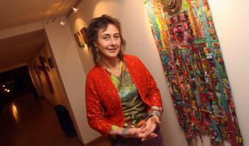 Rodez. Christine Fayon et ses petits bonheurs de tissus colorés