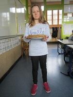 Juliette a apporté des crêpes !