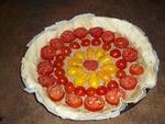 Tarte à la tomate et au thon crémeuse
