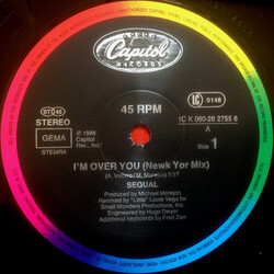 Sequal - I'm Over You
