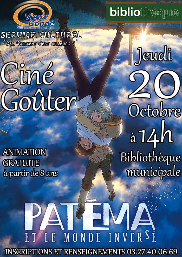 Ciné-goûter dès 8 ans, à Vieux-Condé