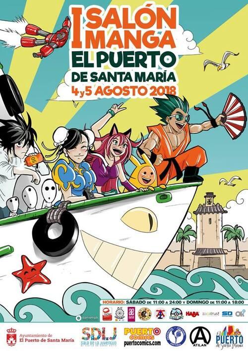 Salón Manga del Puerto de Santa María 2018