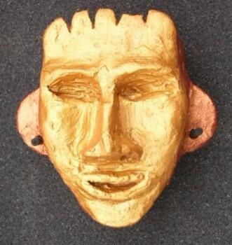 Sculpture Incas Tête