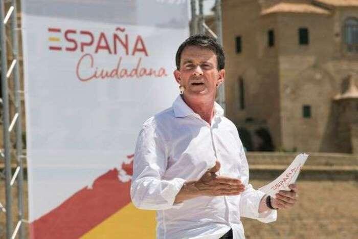 Monarchie espagnole: Manuel Valls s'écharpe avec sa rivale