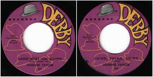 JOHNNIE TAYLOR Sar & Derby Records - 1961 / 1965