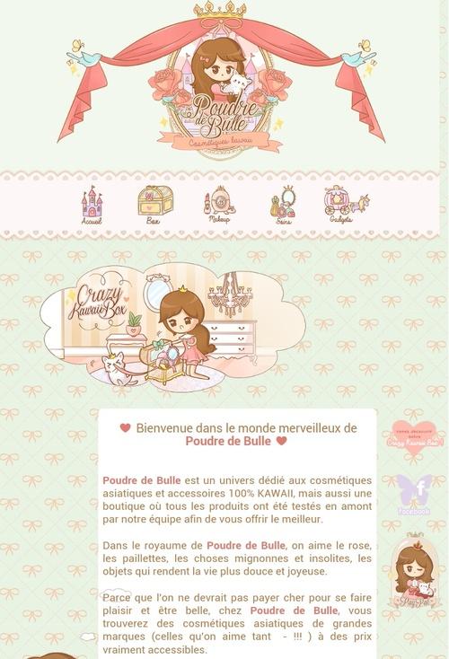 """♥La boutique ''PoudreDeBulle"""""""