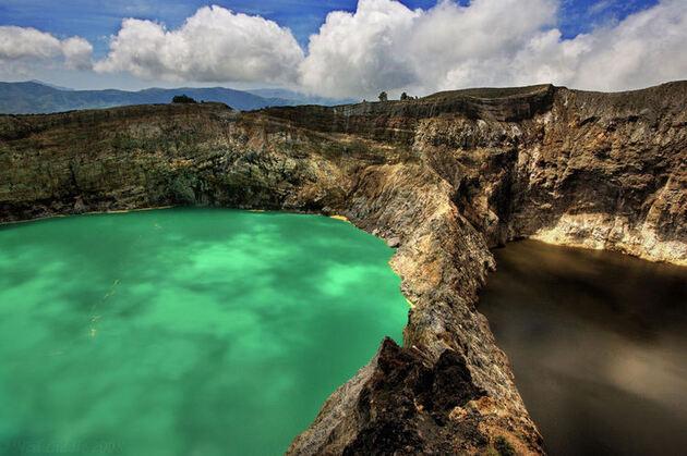 Kelimutu, Indonésie